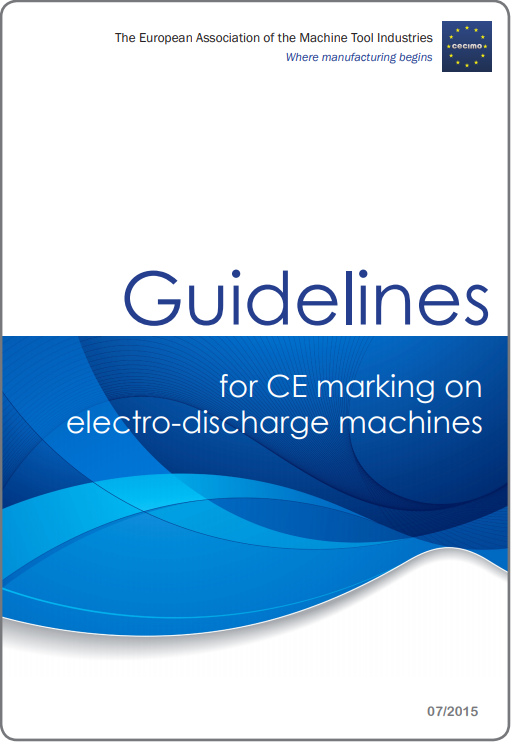 Guidelines for CE marking of electro-discharge machines