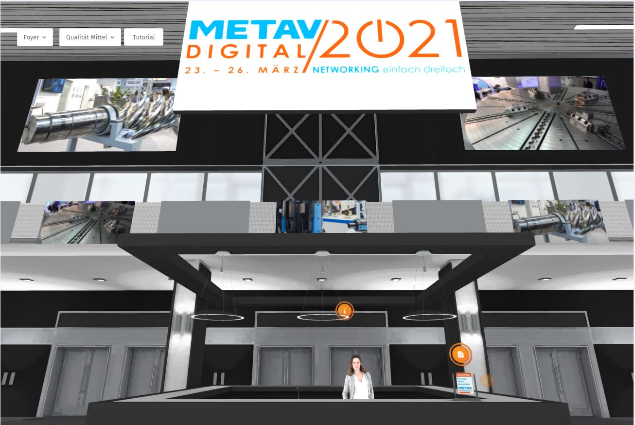 Press Release: METAV on the Web – A lesson in the digitalization of the trade fair  world